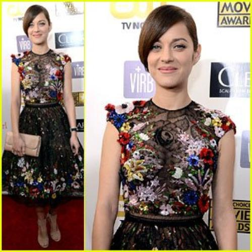Critics' Choice Awards 2013 Red Carpet