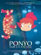 Ponyo sur la falaise!