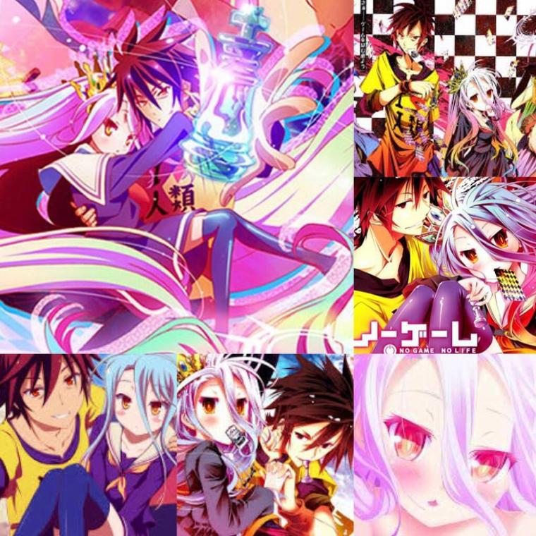 Mes montages No Game No Life <3