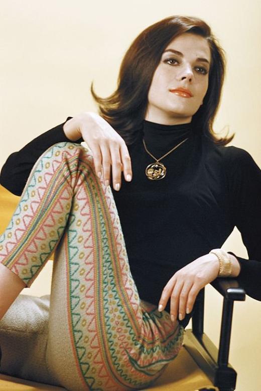 Clin d'oeil de Natalie Wood
