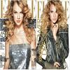 . Taylor Swift en couverture Du magasine ELLE , Avril 2010  .
