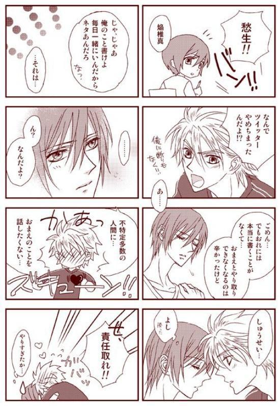 Petit Dōjinshi de Hotsuma et Shusei