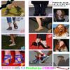 Lily a des chaussures originales ! (voire trop )