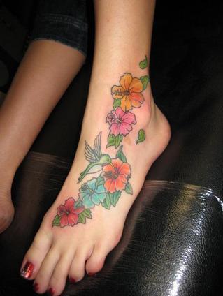 Flower Tattoo Pictures Flower Tattoo Foot Lotus Flower Tattoo