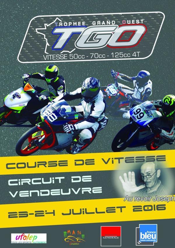 5ème Manche du Trophée Grand Ouest 2016 Vendeuvre ( 14170 )