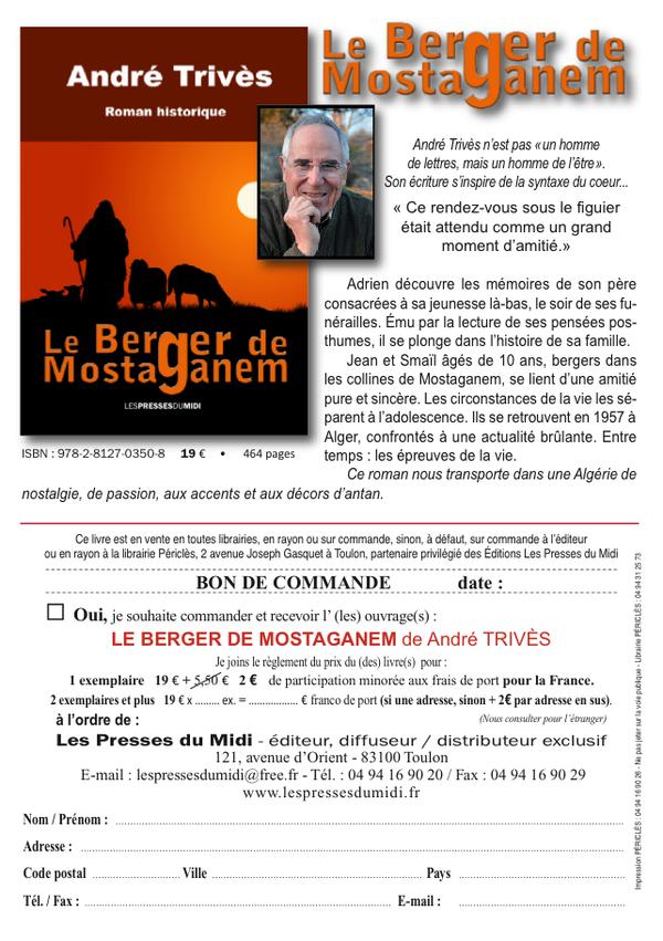 André  TRIVES : Le berger de Mostaganem