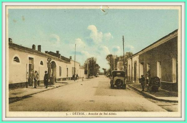 DÉTRIE : Carte postale ancienne animée