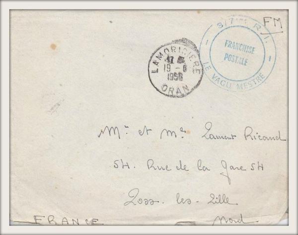 LAMORICIÈRE : Carte postale animée