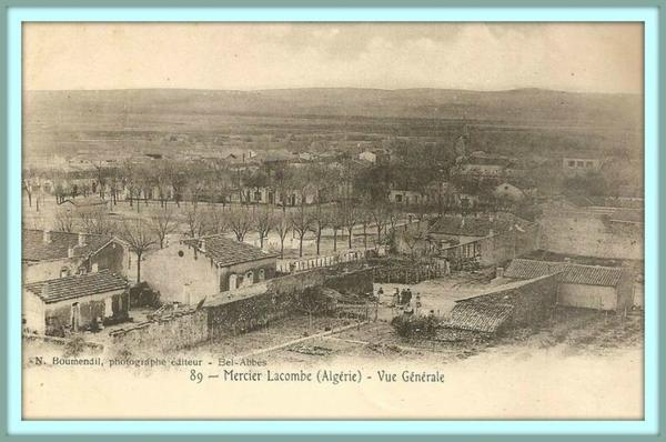 MERCIER LACOMBE : Une vieille carte postale