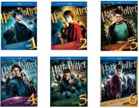 Harry Potter ultimate édition le 7 partie 1 & 2 enfin arrivé !!!
