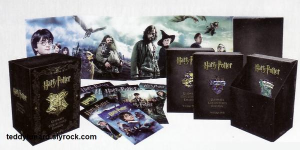 Le nouveau coffret dvd Harry Potter ( Mini Wizard Collection )