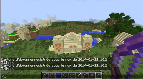 Du fun sur Minecraft