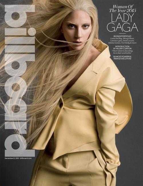 LADY GAGA POUR BILLBOARD MAGAZINE