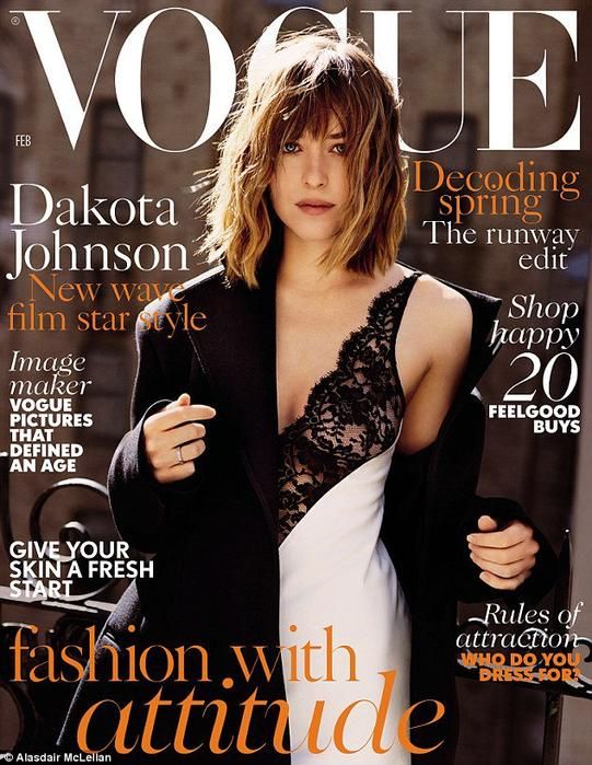 DAKOTA JOHNSON POUR VOGUE UK