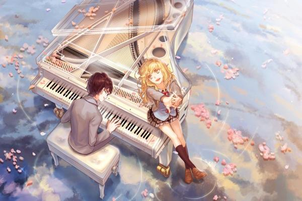 🤖 ❤ Your Lie in April