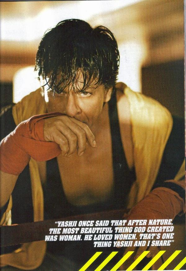 » Interview FILMFARE : Shahrukh Khan