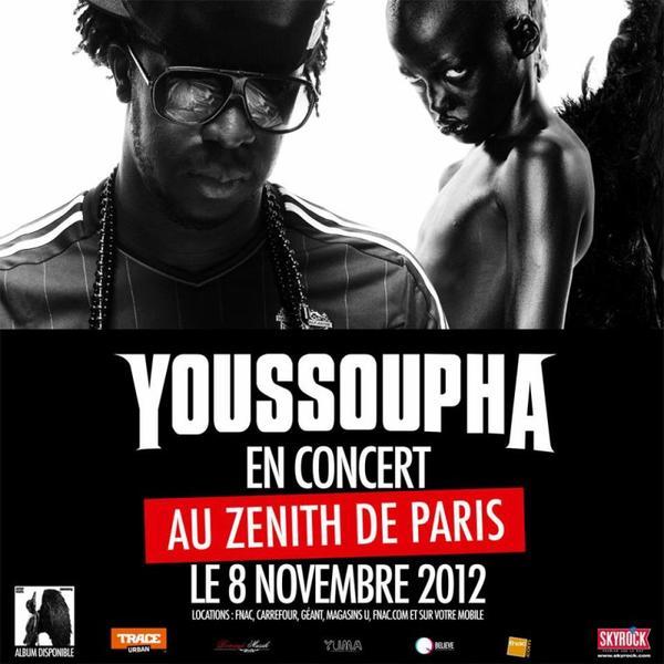 Youssoupha en concert avec Skyrock