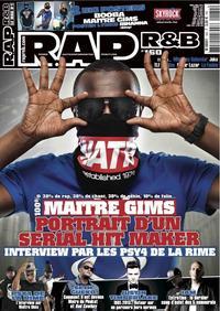Maître Gims en couverture de R.A.P. R&B