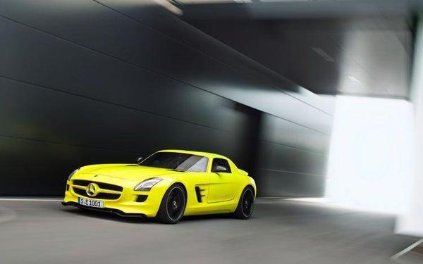 Mercedes SLS AMG E Cell