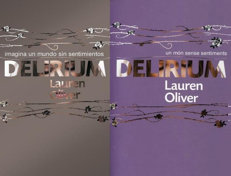 Delirium : Les couvertures à travers le monde