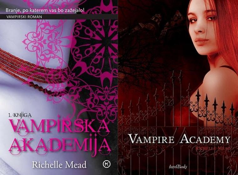 Vampire Academy Tome 1 : Les Couvertures Dans Le Monde