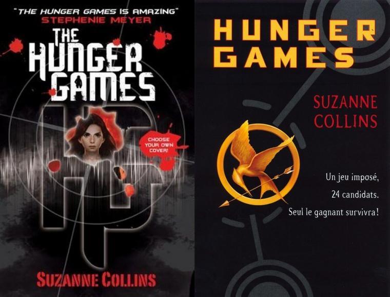 Hunger Games : Les couvertures à travers le monde !