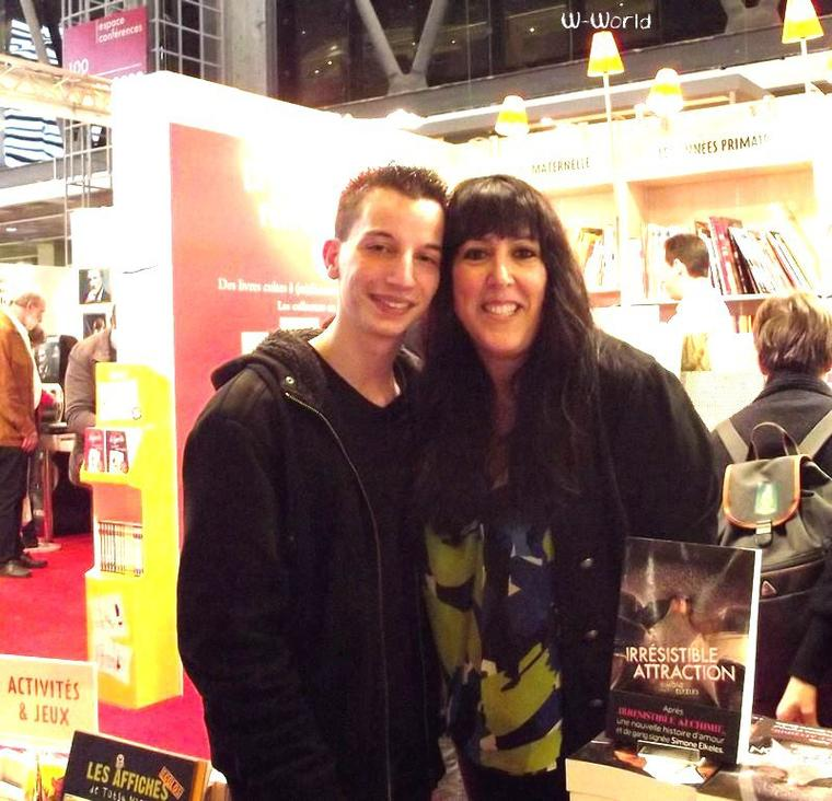 Wandering-World au SALON DU LIVRE 2012 !