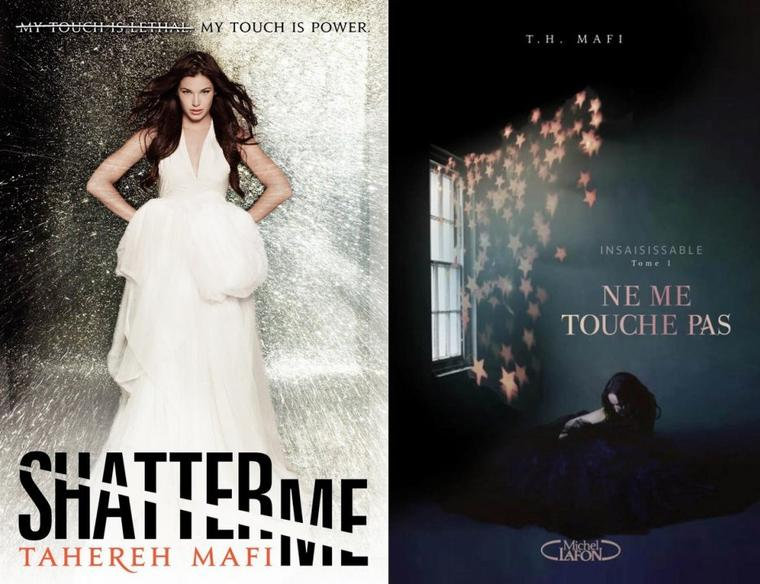 Shatter Me : Les nouvelles couvertures de la saga