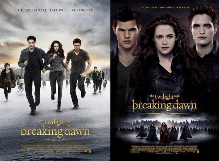 Twilight Chapitre 5 : L'affiche française définitive