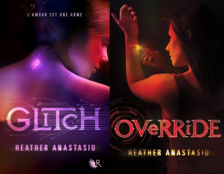 Couverture : Glitch Tome 3 - Shutdown d'Heather Anastasiu