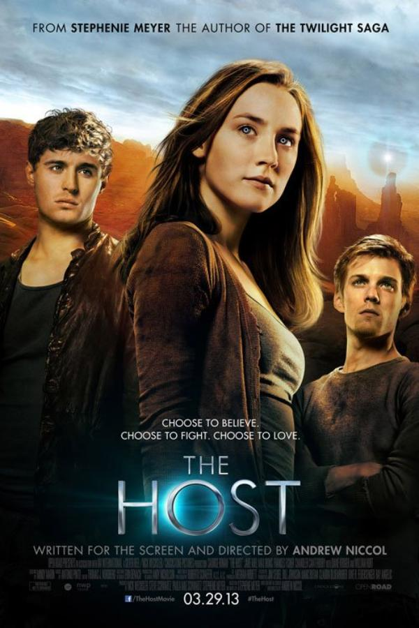 The Host/Les Âmes Vagabondes : L'affiche du film !