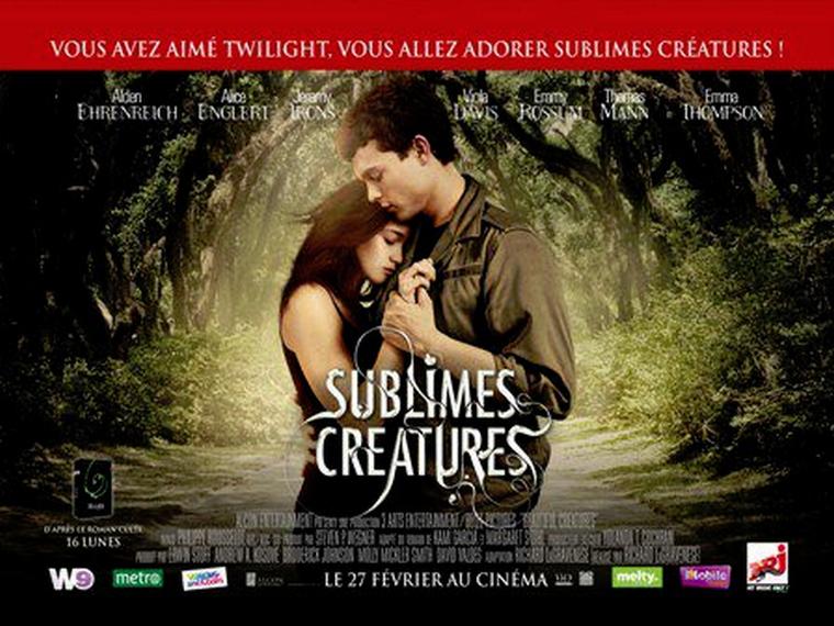 Sublimes Créatures : L'affiche française définitive du film !