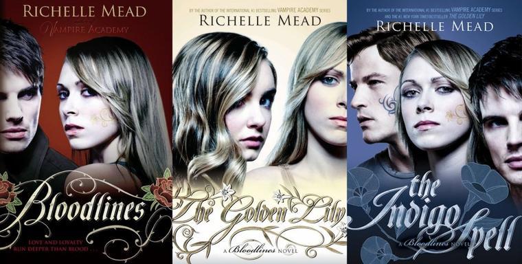 Couverture : Bloodlines Tome 4 - The Fiery Heart de Richelle Mead