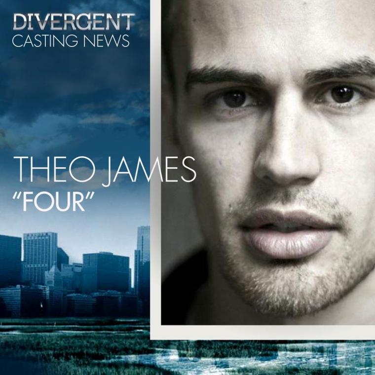 Divergent - Le film : Theo James sera Four !