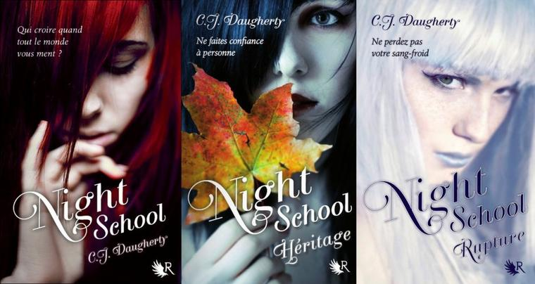 Couverture : NIGHT SCHOOL T.4 - RESISTANCE de C.J. Daugherty