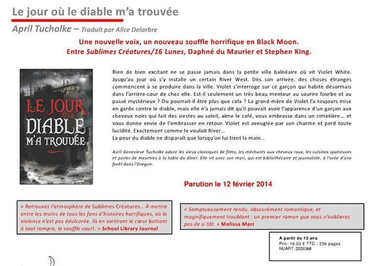 HACHETTE : programme des parutions JANVIER-MARS 2014