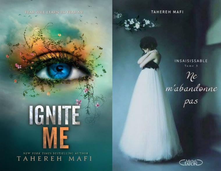 Trailer : SHATTER ME T.3 - IGNITE ME de Tahereh Mafi