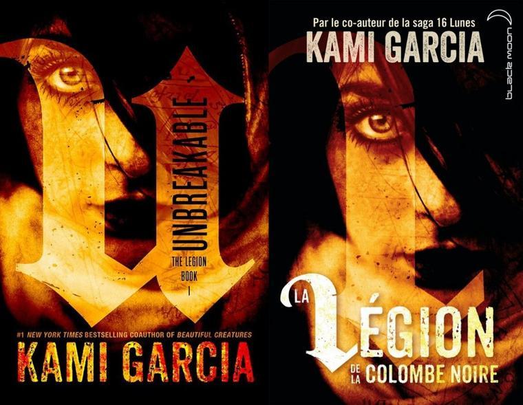 Présentation  : LA LÉGION DE LA COLOMBE NOIRE T.2 - UNMARKED de Kami Garcia