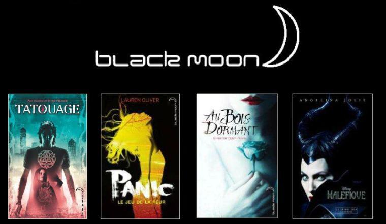 BLACK MOON : les sorties AVRIL-MAI-JUIN 2014