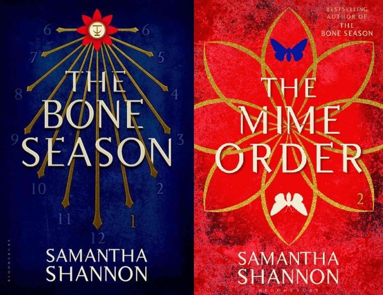 PRÉSENTATION : BONE SEASON T.1 - SAISON D'OS de Samantha Shannon