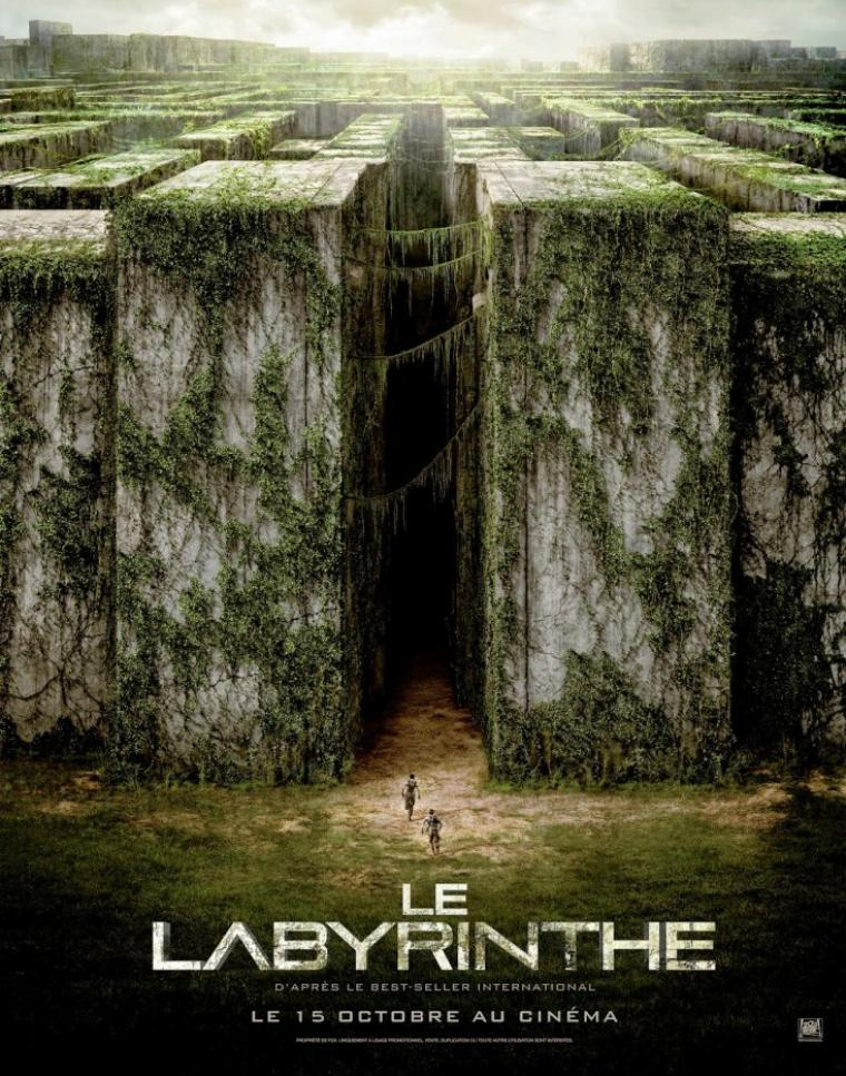 LE LABYRINTHE - LE FILM : 5 NOUVEAUX POSTERS