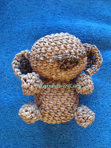 J'ai testé : Crochet rainbow loom ( loomigurumi )