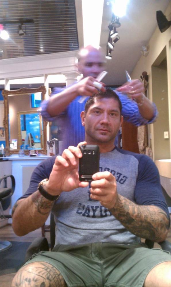 Batista 2014 Tattoos David Michael B...