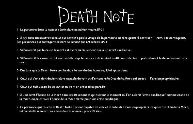 CONSEIL D'ANIME/ DEATH NOTE