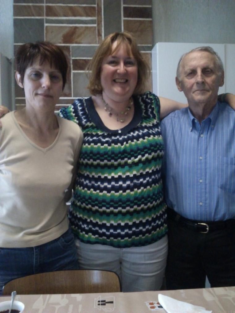 Visite à Nonno le dimanche 11 mai 2014