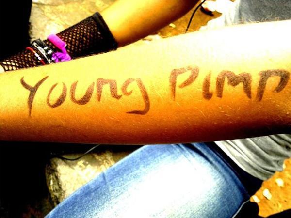 fresh young pimp