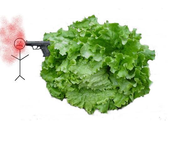 • Tuer un végétarien ... c'est sauver une salade