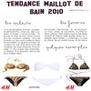 Article : Tendance maillot de bain 2010 !  Par : Elena