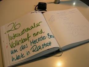 26. Internationalen Rastatt Volkslauf Mercedes-Benz: La pluie, le vent, la boue, 837 coureurs et moi, et moi et moi