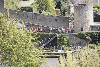 8e EDITION DE L'URBAN TRAIL DE LUXEMBOURG: UNE HISTOIRE D'ESCALIERS